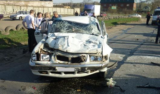 За сутки в Удмуртии сбили трех пешеходов