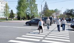 Самое распространенное ДТП в Удмуртии - наезд на пешехода