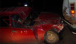 Пьяный водитель «семерки» протаранил автобус в Удмуртии