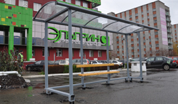 Новые остановки устанавливают у «Эльгрина» в Ижевске