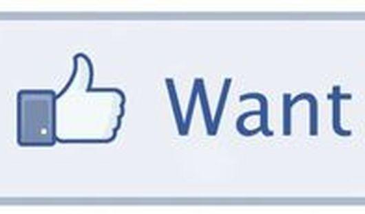 Кнопка «Хочу» появится в социальной сети Facebook