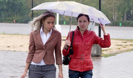 Выходные в Ижевске будут дождливыми