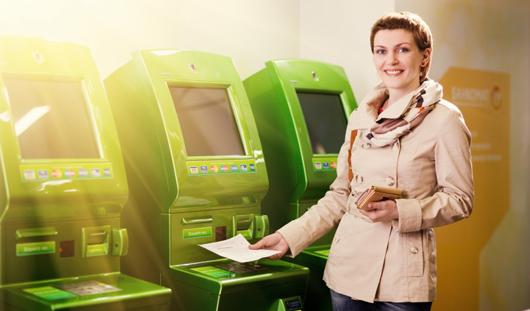 Чтобы заплатить налоги, достаточно показать банкомату квитанцию налоговой службы