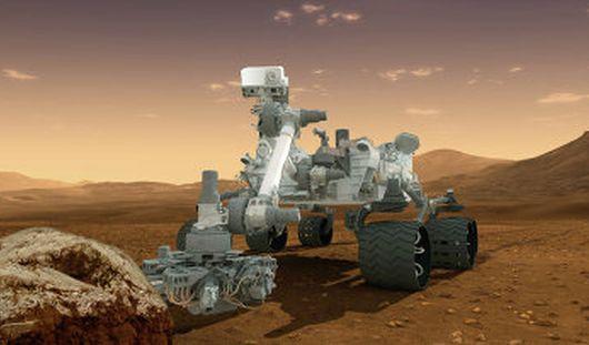Марсоход Curiosity обнаружил на Марсе новый тип горной породы