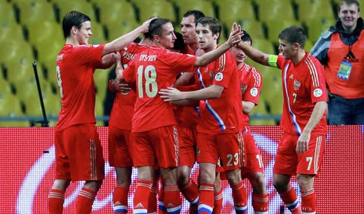 Сборная России по футболу обыграла Азербайджан со счётом 1:0