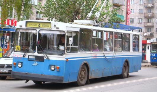 В Ижевске временно закроют движение троллейбусов №1, 4 и 7