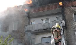 Как избежать большого ущерба при пожаре?