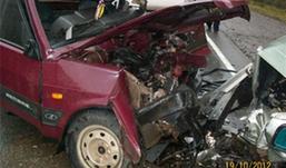 Жуткая авария в Удмуртии: столкнулись фура и две легковушки