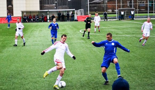 Ижевские футболисты проиграли пермскому ФК «Октан» с минимальным счётом 1:2