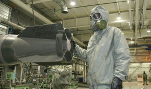 В Кизнере заработает первая линия по уничтожению химоружия