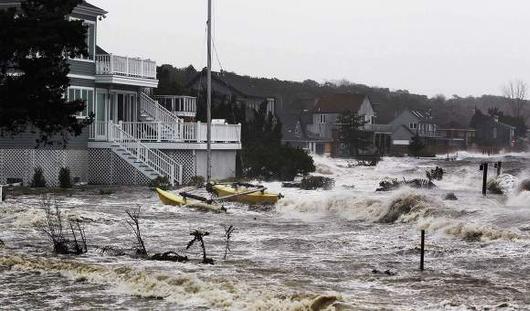 Из-за урагана «Сэнди» Нью-Йорк объявлен зоной бедствия