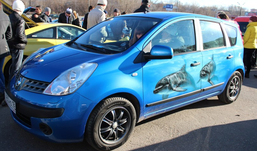 Эксклюзивные автонаряды показали в Ижевске