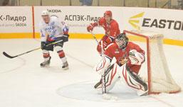 Матч между «Ижсталью» и командой из Волжска «Ариада-Акпарс» закончился поражением ижевчан