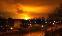 Взрыв газопровода в Подмосковье: сгорело 17 домов и построек
