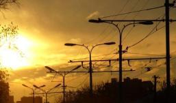 Фонари, работающие от солнца, установили в Удмуртии