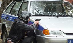 Пьяного водителя в Удмуртии удалось остановить только после применения оружия