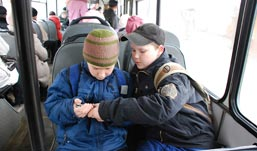 Ижевским кондукторам запретили высаживать школьников из транспорта