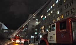 ЧП в Автозаводской больнице Ижевска: сварку приняли за пожар