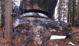 Водитель из Удмуртии уснул за рулем и перевернулся