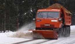 409 тонн песка и соли высыпали на дороги Ижевска за первые снежные сутки