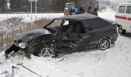 Молодая девушка погибла в аварии в Удмуртии