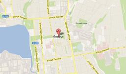 Детализированная карта Ижевска появилась в Интернете