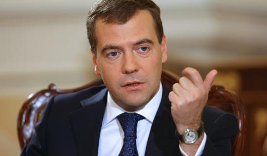 Медведев не исключает, что будет баллотироваться в президенты