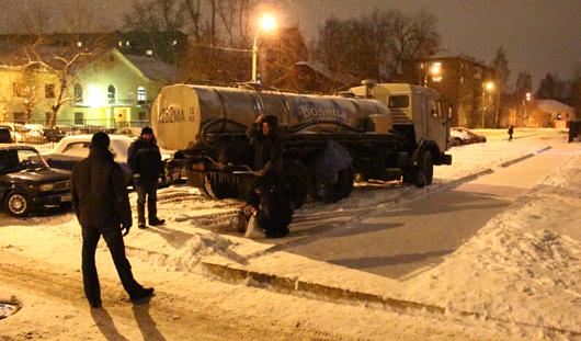 Коммунальную аварию в Ижевске ликвидировали за несколько часов