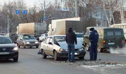 Пять автомобилей столкнулись в Ижевске