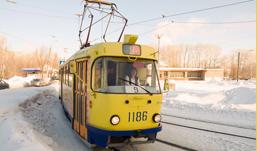 В районе Южной автостанции в Ижевске встали трамваи