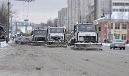 Как Ижевск пережил первые снегопады