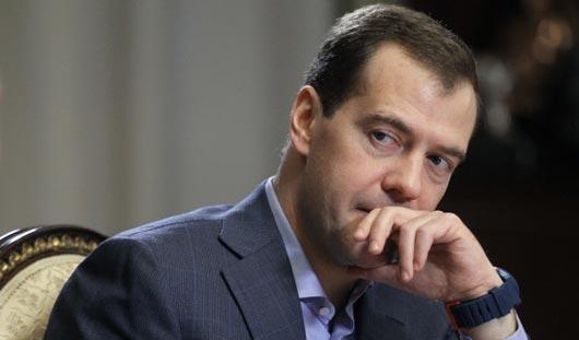 Медведев в прямом эфире подведет итоги работы правительства