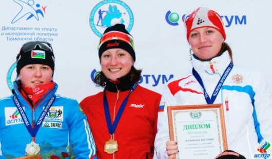 Биатлонисты из Удмуртии завоевали три призовых места на Кубке России