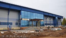 Строительство крытого катка в Ижевске вышло на финальный этап
