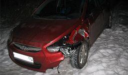 В Удмуртии пьяный водитель сбил пешехода и скрылся