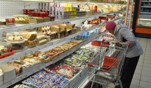 Как меняются цены в ижевских магазинах на новогодние продукты