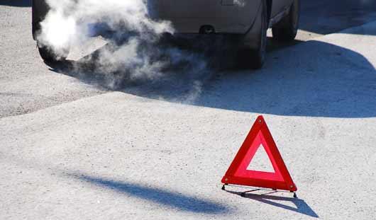 Район перекрестка Удмуртская - Кирова блокирован из-за аварии