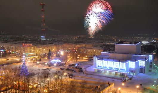 В новогоднюю ночь в центре Ижевска пройдет ретро-дискотека