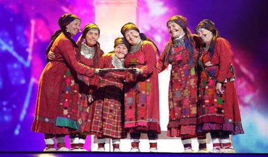 Выступление «Бурановских бабушек» на «Евровидении» вошло в пятерку самых просматриваемых видео за год
