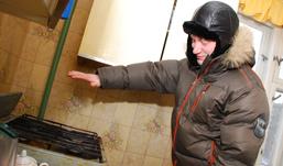 Жители пригорода Ижевска замерзают в своих домах