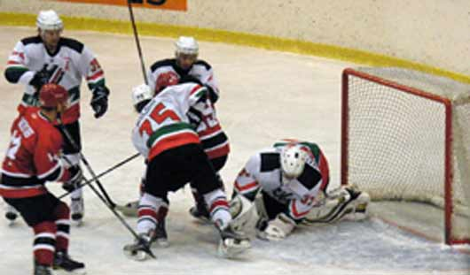 Ижевские хоккеисты проиграли альметьевскому «Нефтянику» со счётом 3:2