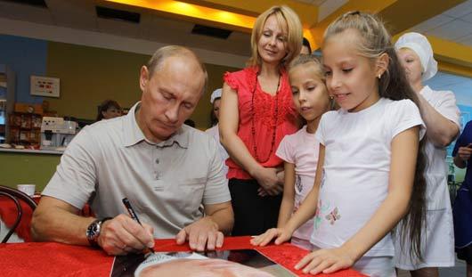 Президент России Путин поддержал запрет на усыновление детей американцами