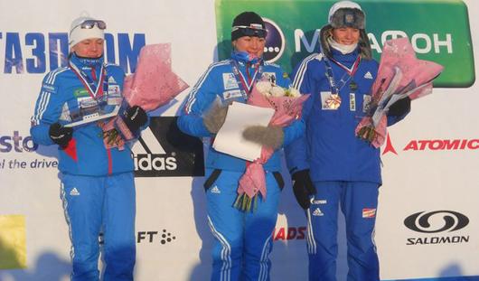 Биатлонисты Черезов и Назарова завоевали «серебро» «Ижевской винтовки»