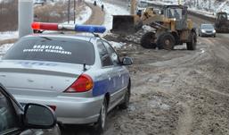 Коммунальная авария в Ижевске: из-за голодеда произошло два ДТП
