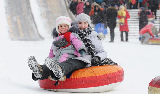 Где в Ижевске отдохнуть всей семьей в новогодние каникулы