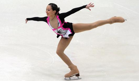 Глазовчанка Лиза Туктамышева показала лучший результат в короткой программе на чемпионате России