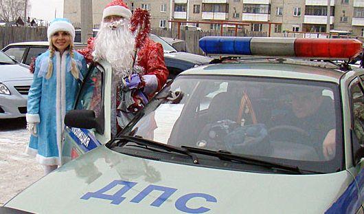 Новогодние праздники в Удмуртии проходят без нарушений общественного порядка