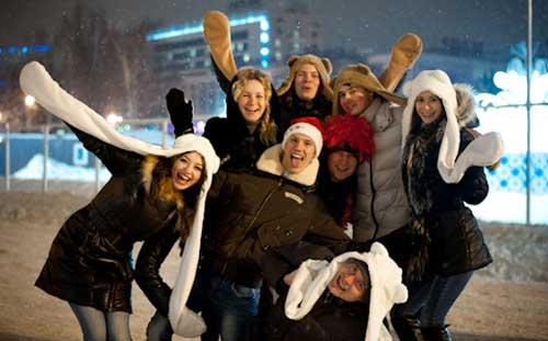 Как в Ижевске встретили Новый год