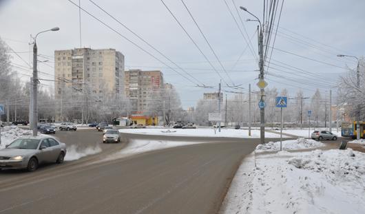 «Кольца» по Ворошилова в Ижевске с 5 января стали приоритетными