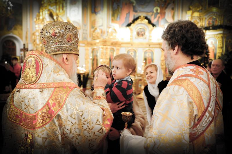 Фотофакт: в Ижевске отметили Рождество Христово